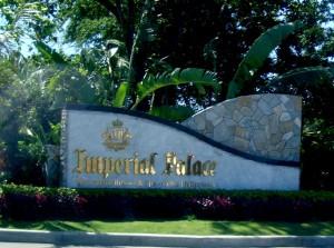 Cebu Imperial Palace Entrance
