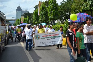 Cebu Inter-Faith Walk for Peace-National Commission on Muslim Filipinos Cebu Chapter