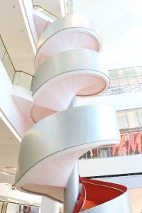 Cebu SM Spiral Stairs