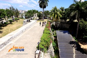 Cebu Fort San Pedro Top View