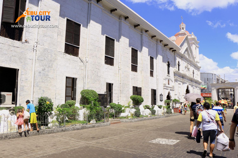 basilica minore del sto nino history cebu city tour