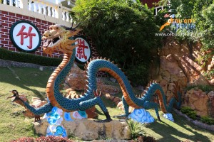 Cebu Taoist Temple Dragon