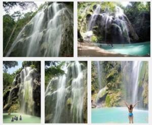 Tumalog Falls swimming