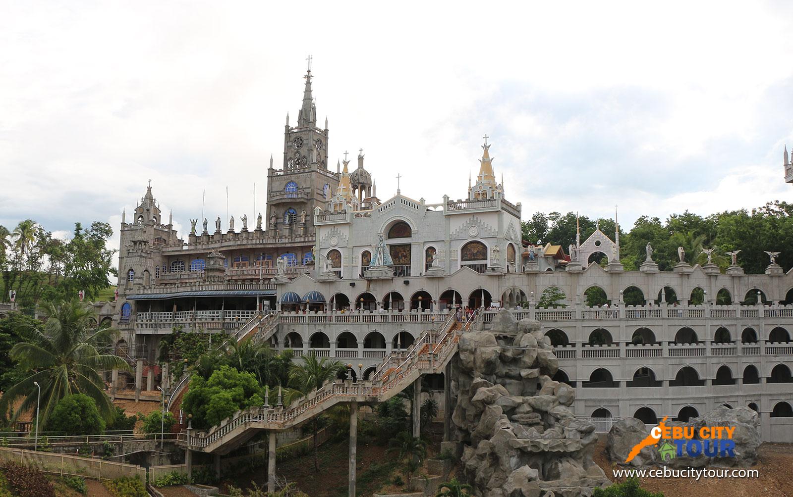 cebu simala parish church cebu castle tour cebu city tour
