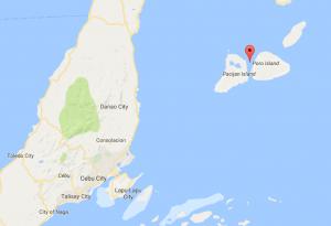 Camotes Island Map