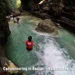 Canyoneering in Badian, Kawasan Falls Canyoneering