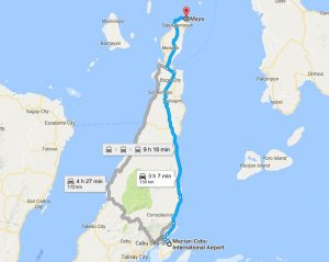 Cebu Car Rentals - Cebu Mactan Airport to Maya or Malapascua