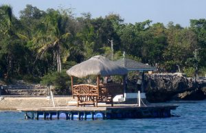 plantation bay philippines nipa hut