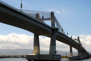 Philippines Cebu Mactan bridge