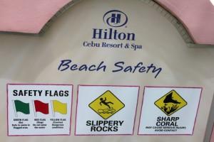 cebu hilton hotel safety precautions