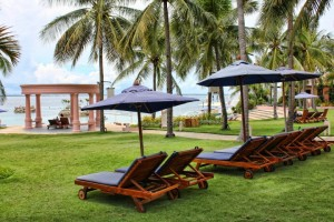 philippines cebu hilton hotel grounds