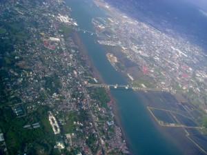 Cebu Islan Aerial View