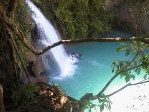 Cebu Kawasan Falls Top View