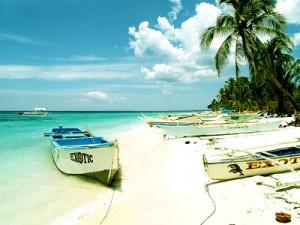 Malapascua Island White Sand Beach
