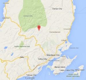 Adlawon Cebu City Location