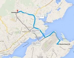 Bacayan Map, Cebu City