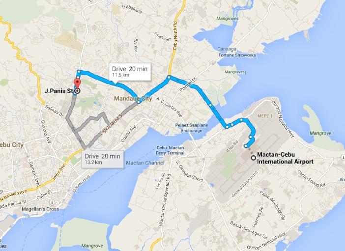 university of cebu main campus map Banilad Cebu City Map And Business Cebu City Tour university of cebu main campus map