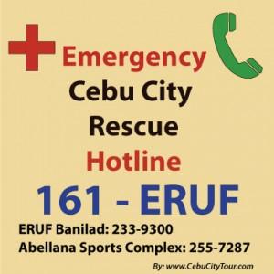 Cebu City Resque Unit - ERUF logo