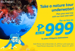 Cebu Pacific Airlines Promo 2016