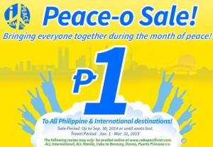 Cebu Pacific Air Promo