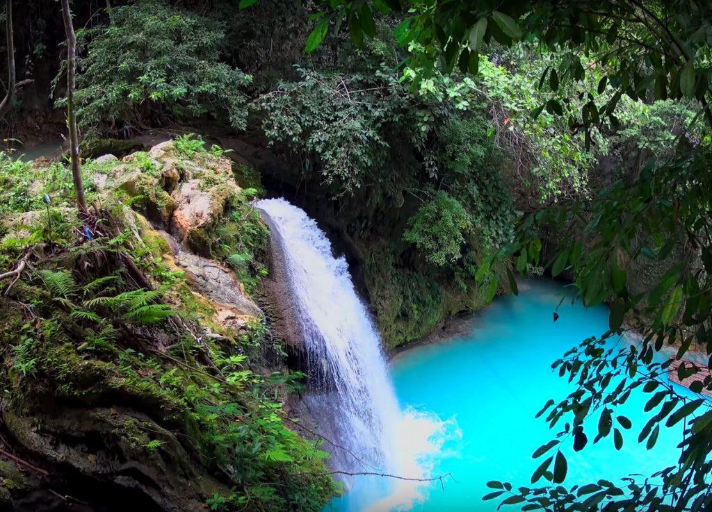 Kawasan Falls in Badian