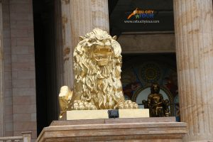Lion found in Temple of Leah