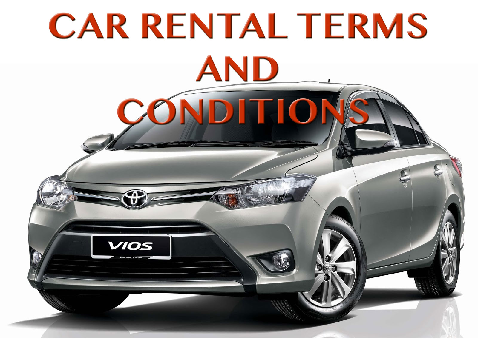 Ez Car Rental Terms And Conditions