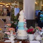 4 layers wedding cake