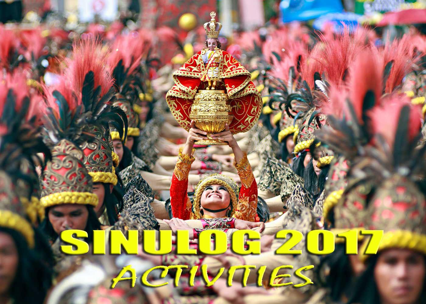 Sinulog Festival 2017 Schedule Of Activities Cebu City Tour