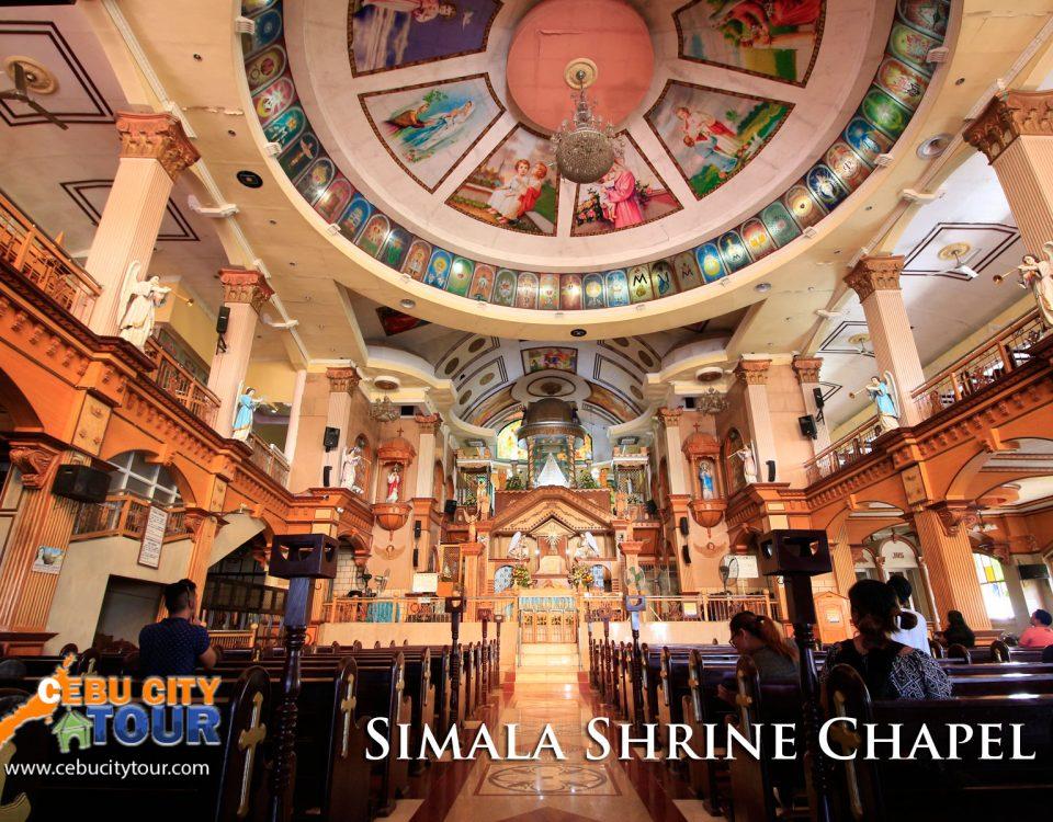 Simala Chapel Inside