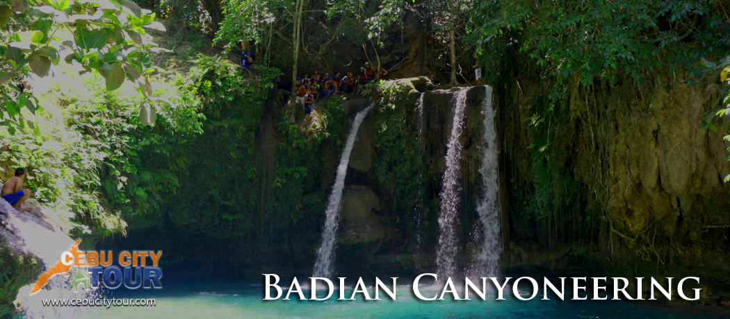 Cebu Badian Canyoneering