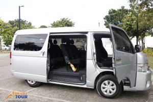 Cebu Van Rental Side View