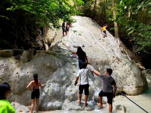 Aquinid falls 3rd level of falls